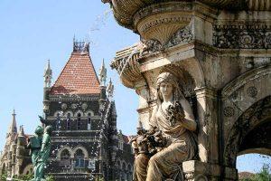 INDIEN-Mumbai-Flora Fountain