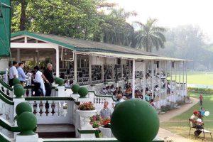 INDIEN-Mumbai-Mahalakshmi Race Course, die Pferderennbahn