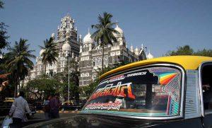 INDIEN-Mumbai-Churchgate im Süden der Stadt
