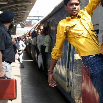 INDIEN-Mumbai-Rush hour mit Spaß