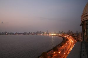 INDIEN-Mumbai-Marine Drive - Queen's necklace