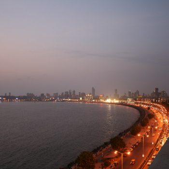 INDIEN-Mumbai-Marine Drive - Queen's necklace