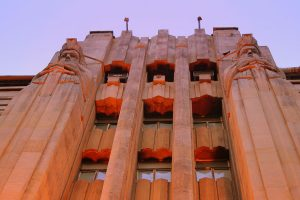 INDIEN-Mumbai-Art Deco auf der MG Road