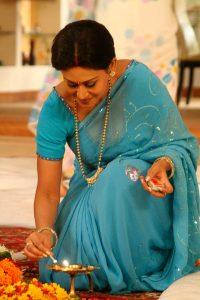 INDIEN-Mumbai-Bollywoodstar am Set