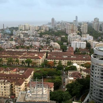 INDIEN-Mumbai-Parsi Siedlung in Colaba