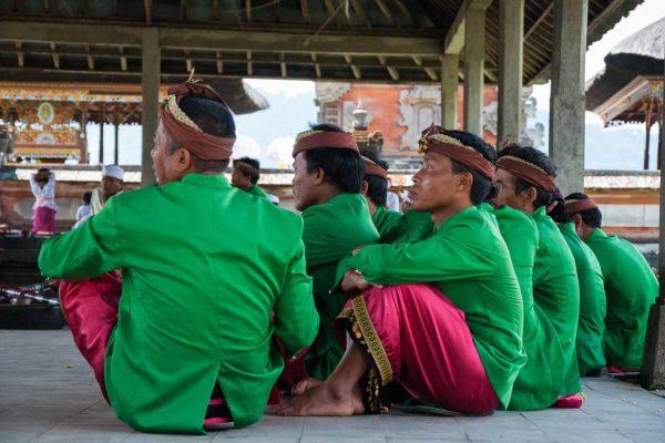 Indonesien-Bali-Tempelleben