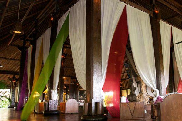 Indonesien-Bali-Canggu Badung Tugu Hotelhalle