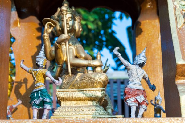 Asia-Thailand-Chiang Mai-house temple