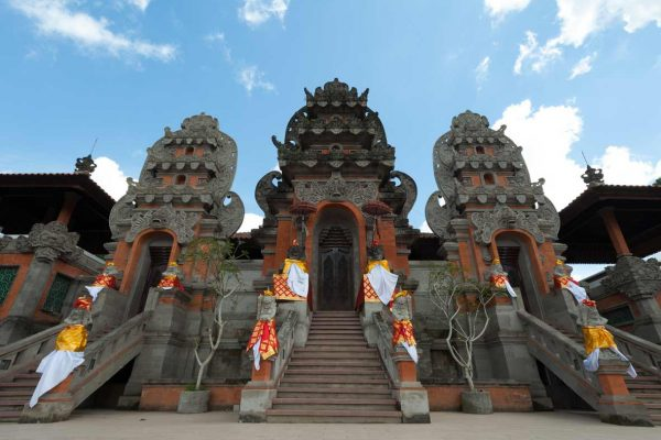 Indonesien-Bali-Tempeleingang