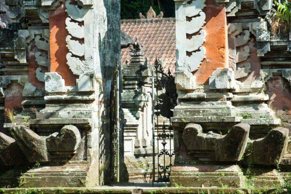 Indonesien-Bali-typisch balinesisches Tor