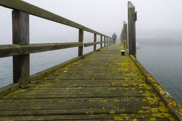 Deutschland-Sylt-Hörnumer Hafen im November