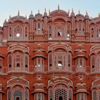 IND-Rajasthan-Jaipur-Palast der Winde