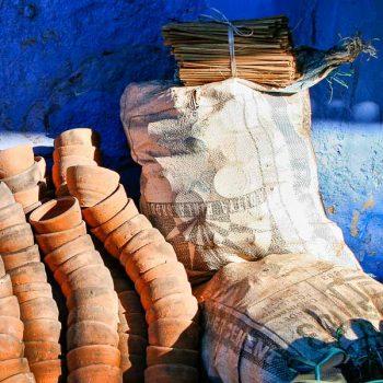IND-Rajasthan-Jodhpur-die blaue Stadt