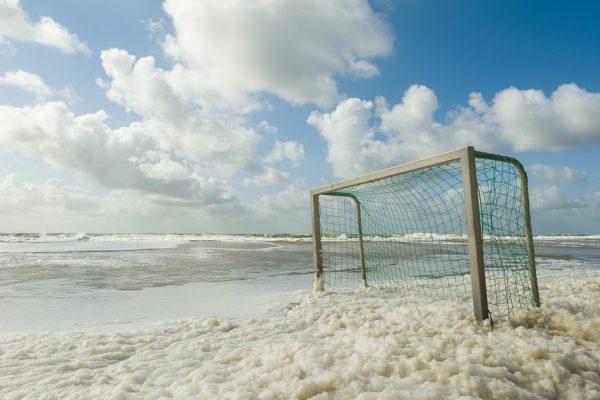Deutschland-Sylt-Wenningstedt-Strandfußball