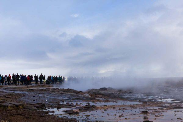 Island-Golden Circle-Strokkur Geysir