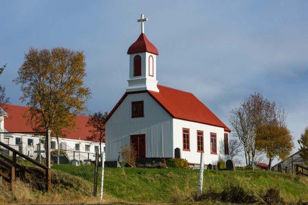Island-Golden Circle-isländische Kirche