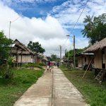 Huitoto Dorf
