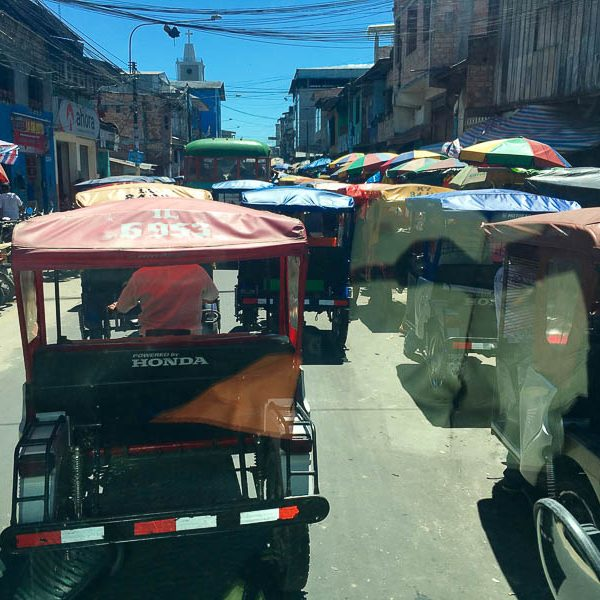 Rikshaws in Iquitos