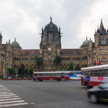 INDIEN-Mumbai-Victoria Station, VT oder CST