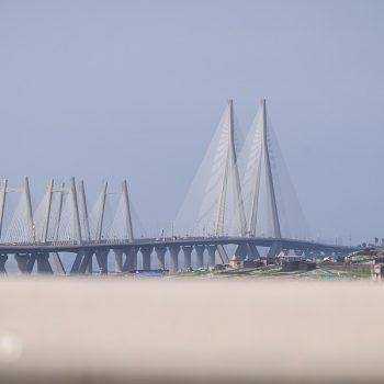 INDIEN-Mumbai-Bandra Worli Sea Link