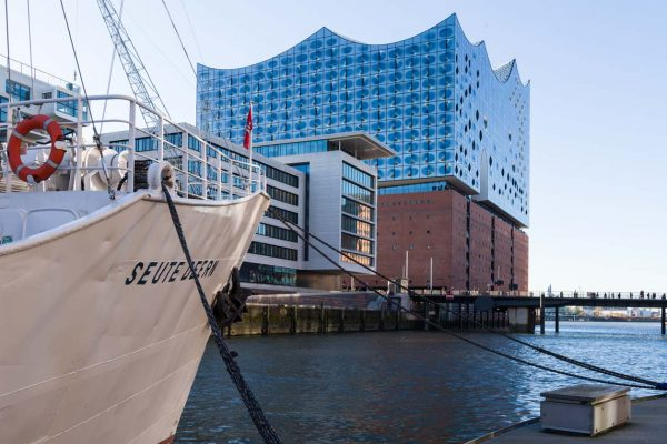 Europe-Germany-Hamburg-Hafencity-Elbphilharmonie