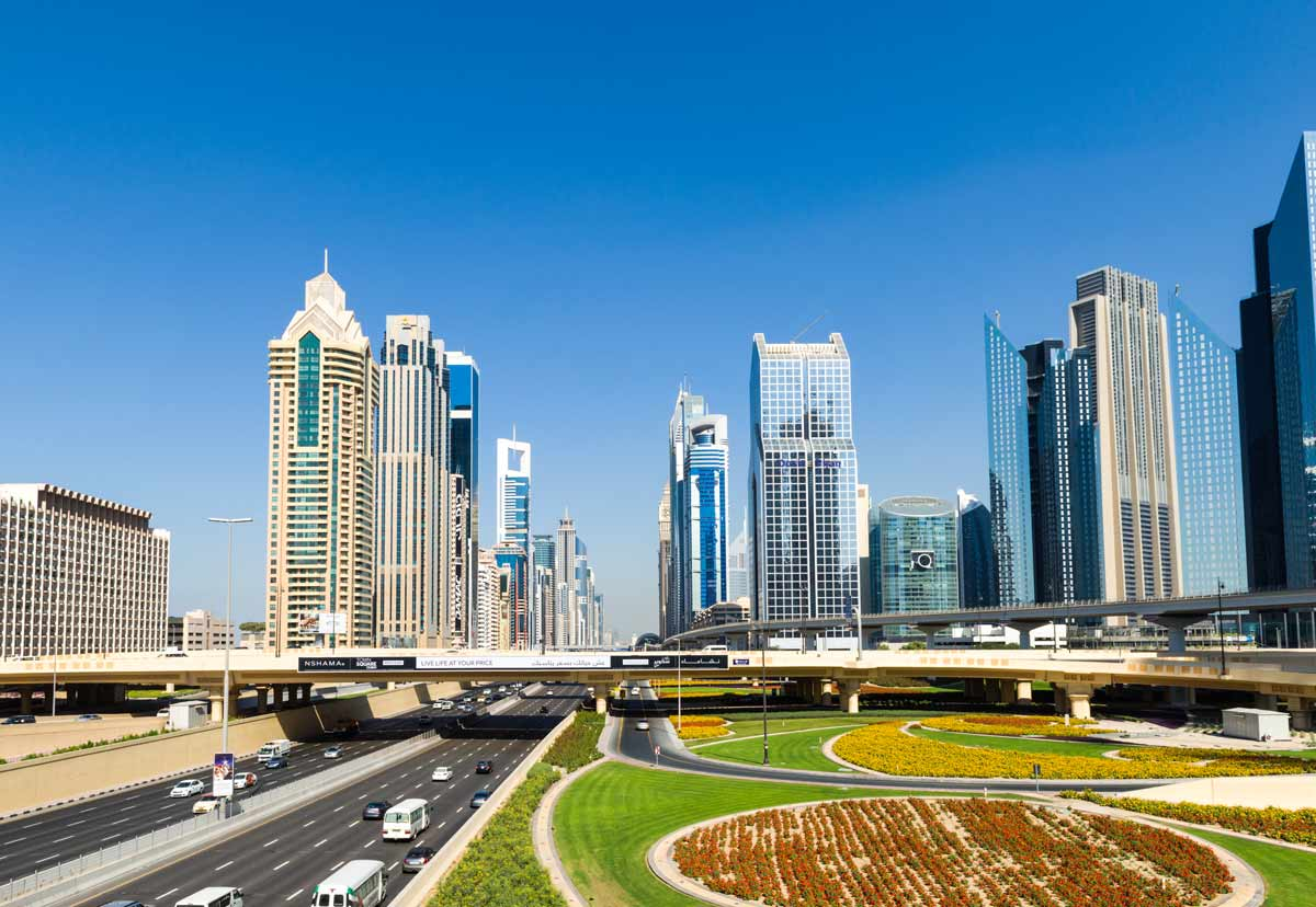 VAE-Dubai-Sheik Zayed Road