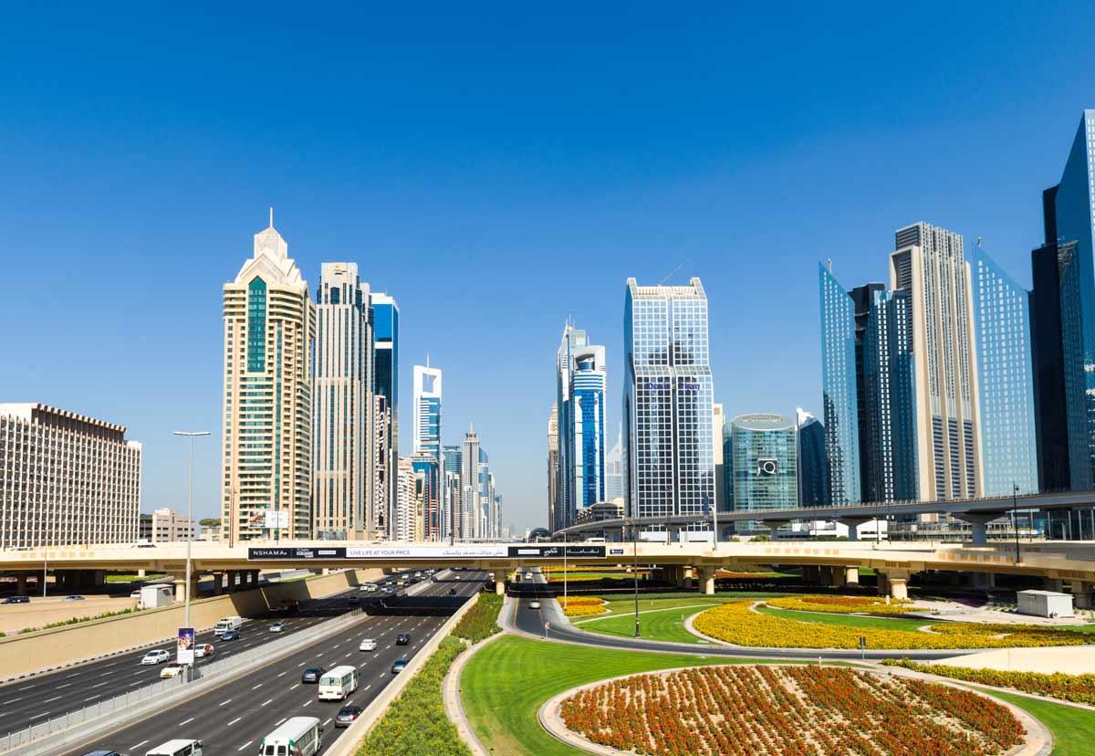 VAE-Dubai-Sheik Zayed Road
