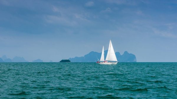 sailing in the Andaman Sea