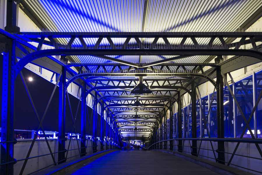 Deutschland, Hamburg, Hafen, Überseebrücke