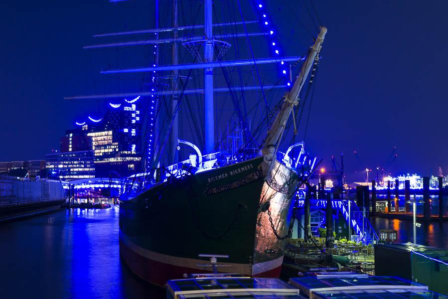 Deutschland, Hamburg, Hafen, Museumsschiff Rickmer Rickmers