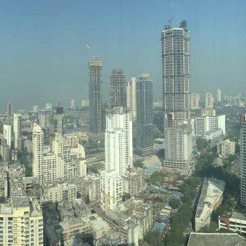 INDIEN-Mumbai-Blick vom St. Regis