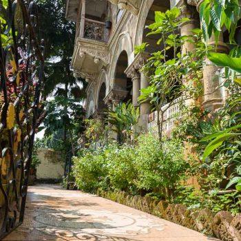 INDIEN-Mumbai-Charme alter Häuser