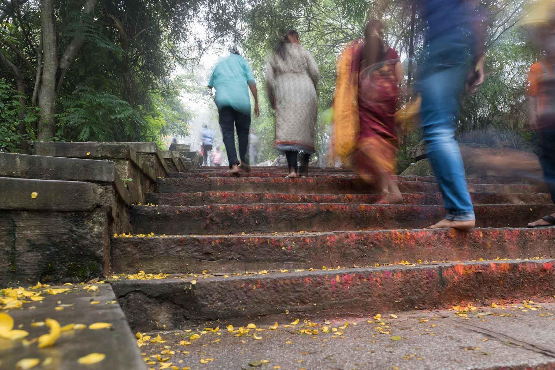 1000 Treppen hoch zu Chamundi Hill