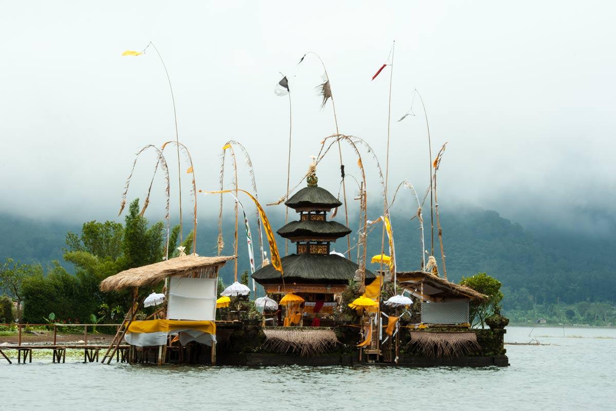 Indonesien-Bali-Pura Ulun Danu Bratan