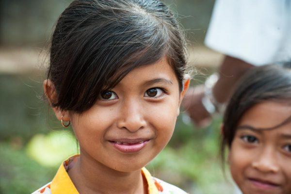 Indonesien-Bali-balinesisches MädchenIndonesien-Bali-balinesisches Mädchen