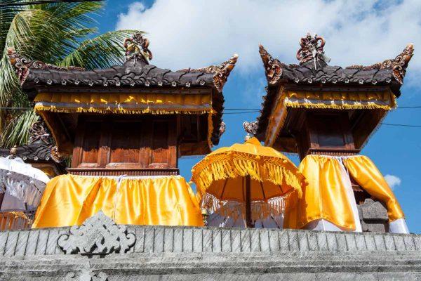 Indonesien-Bali-Tempeldetails