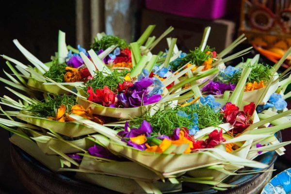 Indonesien-Bali-Göttergaben