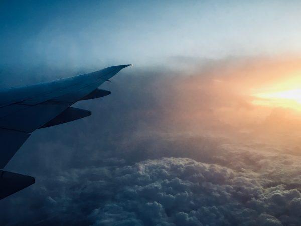 Flug nach Indien