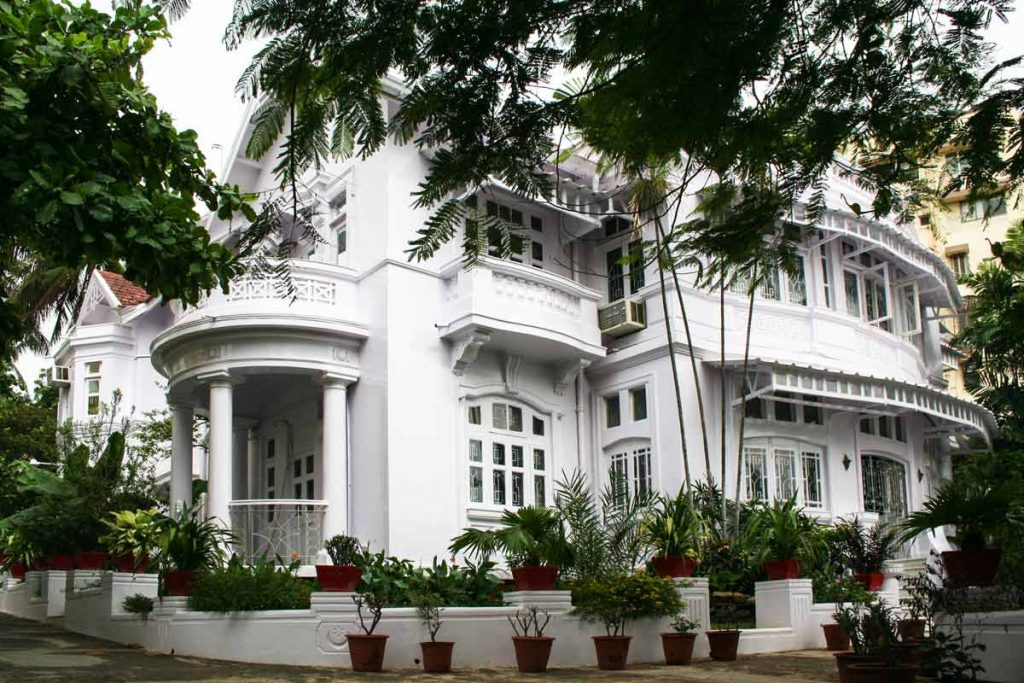 INDIEN-Mumbai-Bandra Villa auf Carter Road