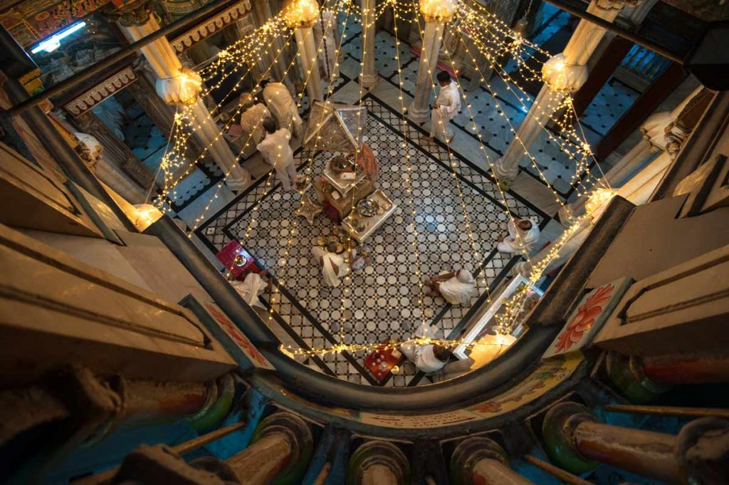 INDIEN-Mumbai-Shri Adishwarji Jain Temple-Malabar Hill