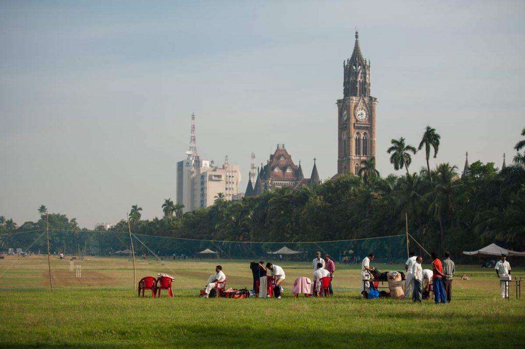 INDIEN-Mumbai-Oval Maidan Cricket