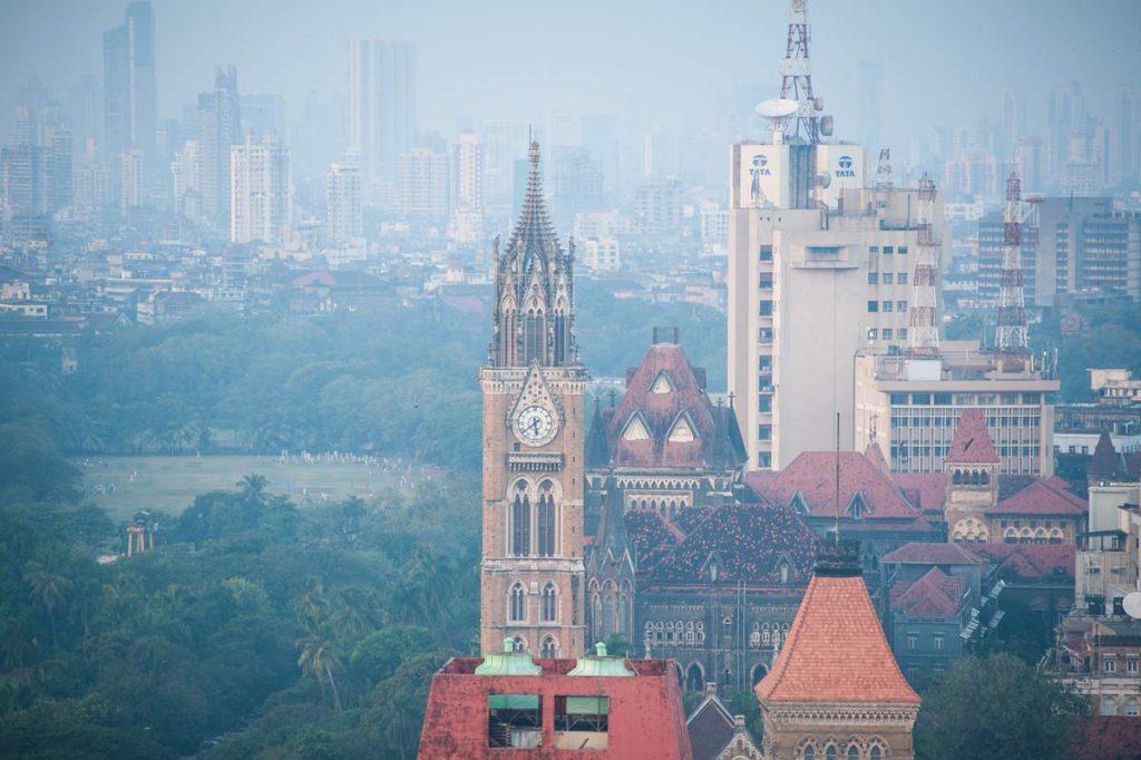 INDIEN-Mumbai-Universität von oben