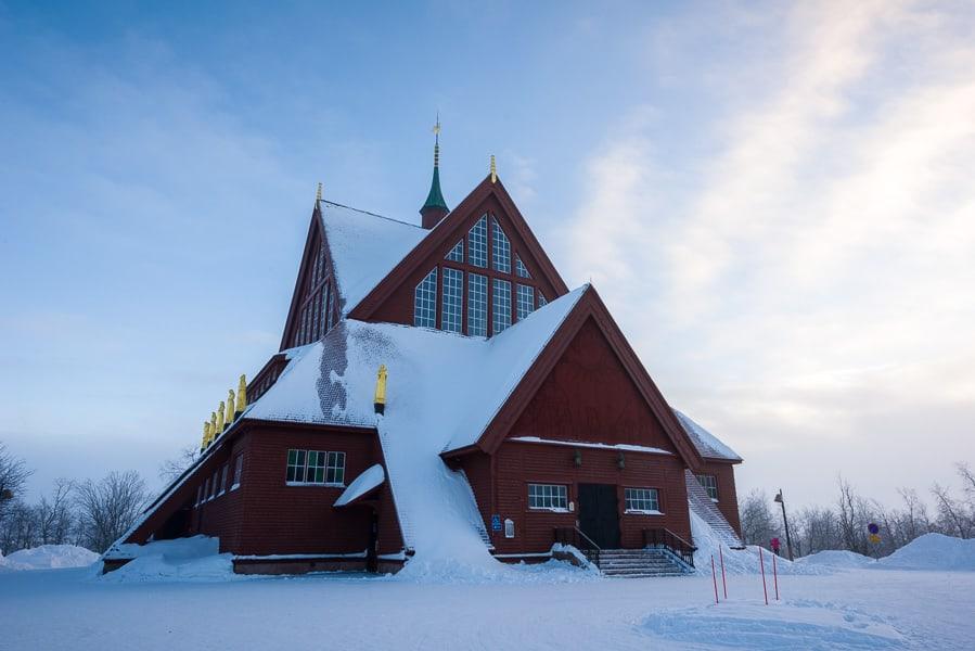 Schweden-Kiruna-Kirche