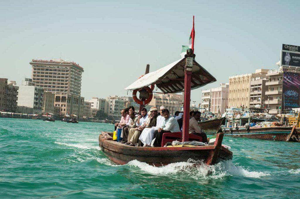 VAE-Dubai-Creek Leben