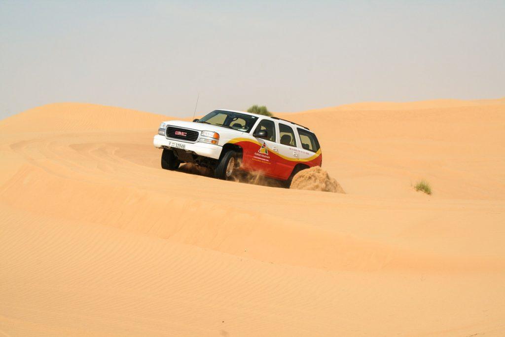 VAE-Dubai-Wüstenfahrt