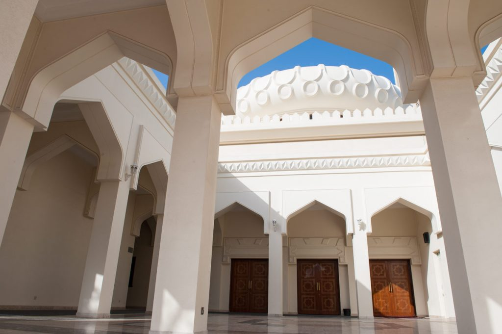 VAE-Dubai-Moschee in Bastakiya